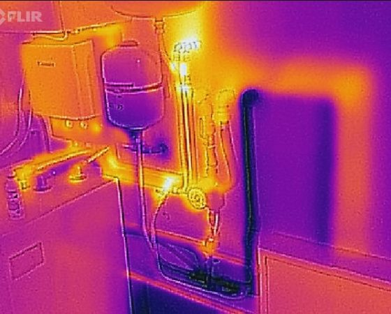 Thermal imaging and audit